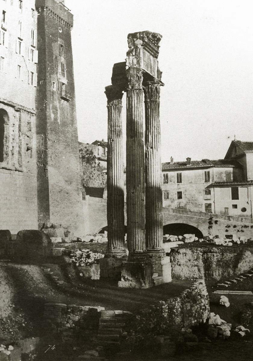 Temple of Vespasian and Titus, Roman Forum