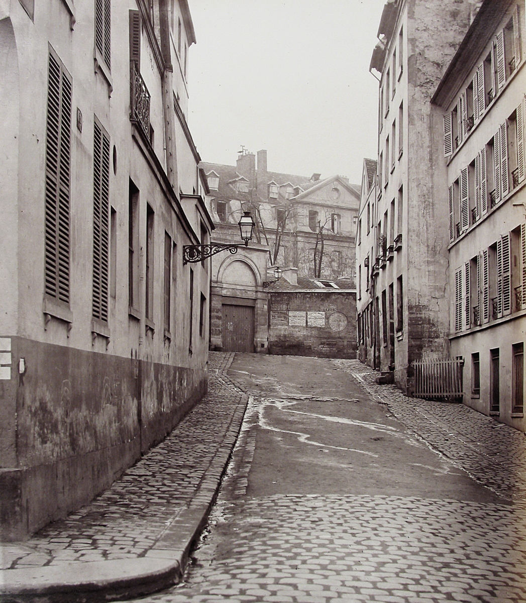 charles isaacs exhibit charles marville the streets of old paris before haussmann place. Black Bedroom Furniture Sets. Home Design Ideas