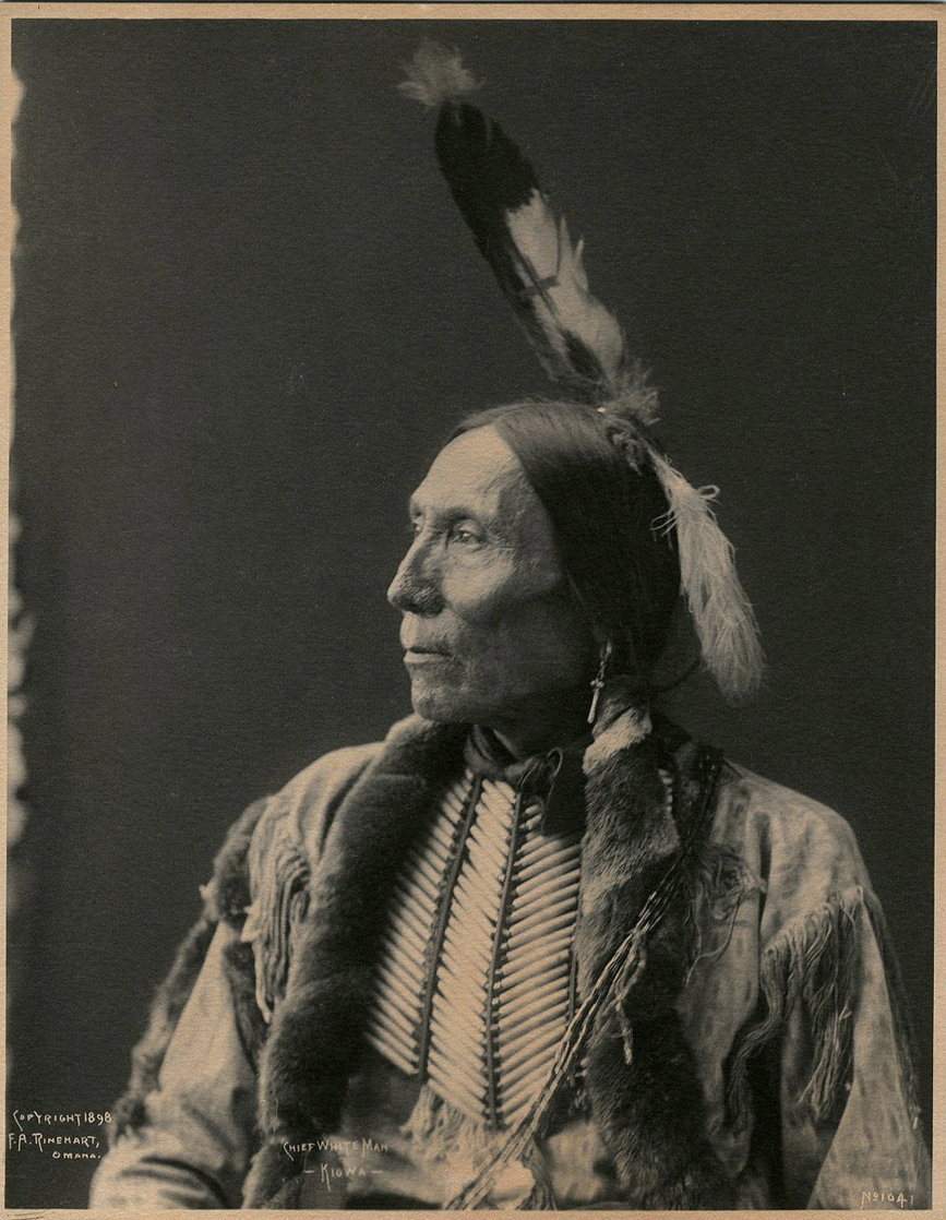 Chief White Man, Kiowa, No. 1041