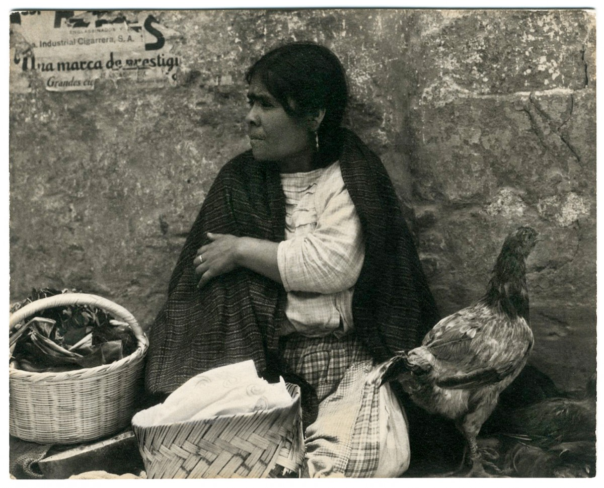 Woman with Hen, Tenancingo, Mexico