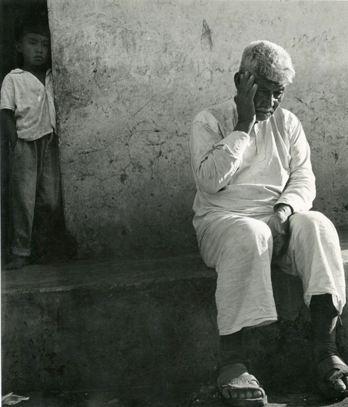 Anciano de blanco / Old man in white, Tzimin, Yucatan